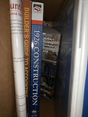 Construction exam books. Trade. Make offer for Sale in Fort Myers, FL