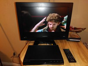 """19"""" flat screen TV with DVD player for Sale in Lakeland, FL"""