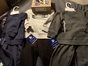 Brand new toddler Champion sets w/ matching snow boots for Sale in Brooklyn, NY