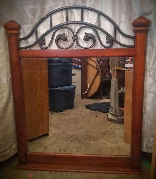 Dresser Top Mirror (Bureau)
