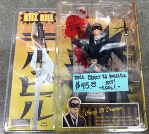 """New SDCC Exclusive Kill Bill """"Crazy 88 Director Quentin Tarantino"""" Figure $45 for Sale in City of Industry, CA"""