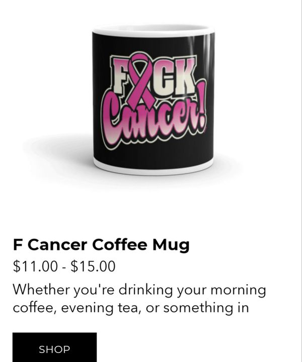 F Cancer Coffee Mug