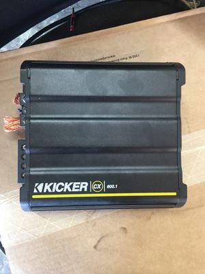 Kicker Amp CX 600.1 for Sale in Chandler, AZ