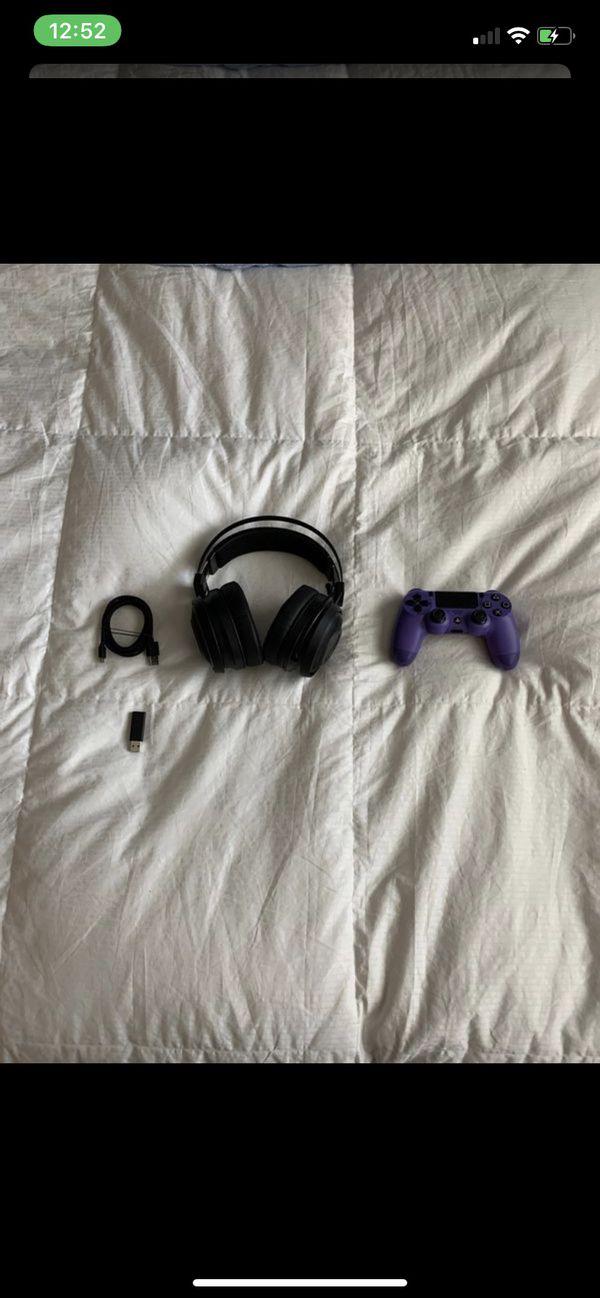 razor headset & PS4 Dual shock