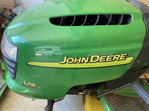 John Deere L118 lawn mower tractor for Sale in Springfield, VA