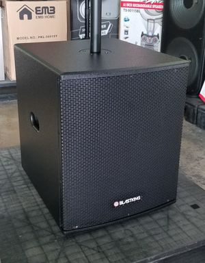 """BLASTKING 15"""" Subwoofer. Match it with a 12"""" or 15"""" top. Model number is BPS15II. for Sale in Miami, FL"""