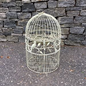 Antique green metal Bird Cage for Sale in Concord, MA