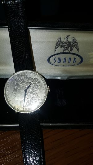 SWANK Morgan silver dollar watch for Sale in Ville Platte, LA