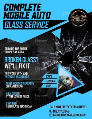 Windshield AutoGlass for Sale in Tampa, FL