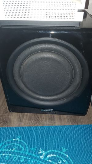 Stereo system and sub woofer for Sale in Austin, TX