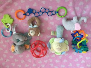 Baby rattles stroller sensory toy lot for Sale in Queens, NY