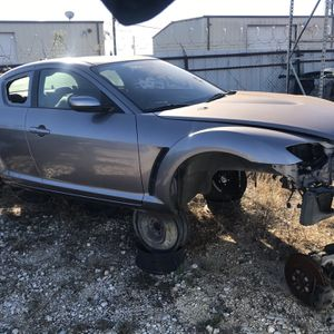 Mazda Rx-8 Parts No Rust Parting Out Complete Car Suspension Subframe K Frame Door Fender Rear Bumper Hood Diff for Sale in San Marcos, TX