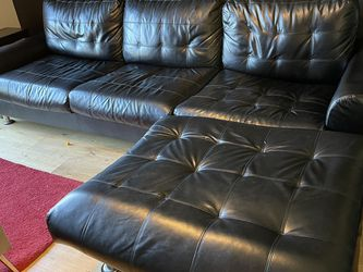 Faux Leather Couch for Sale in Solana Beach,  CA