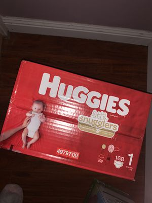 Huggies Size 1 (count 168) for Sale in Las Vegas, NV
