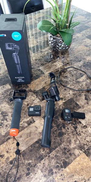 Go pro hero 7 with karma grip and other accessories! for Sale in Ontario, CA