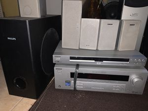Sony receiver str-k750p and DVD player for Sale in Miramar, FL