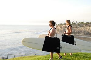 Surfboard Sling | Surfboard Carrier | Longboard Carrier | Longboard Sling | Tote bag | Beach Towel | Changing Cover | All in one for Sale in Newport Beach, CA