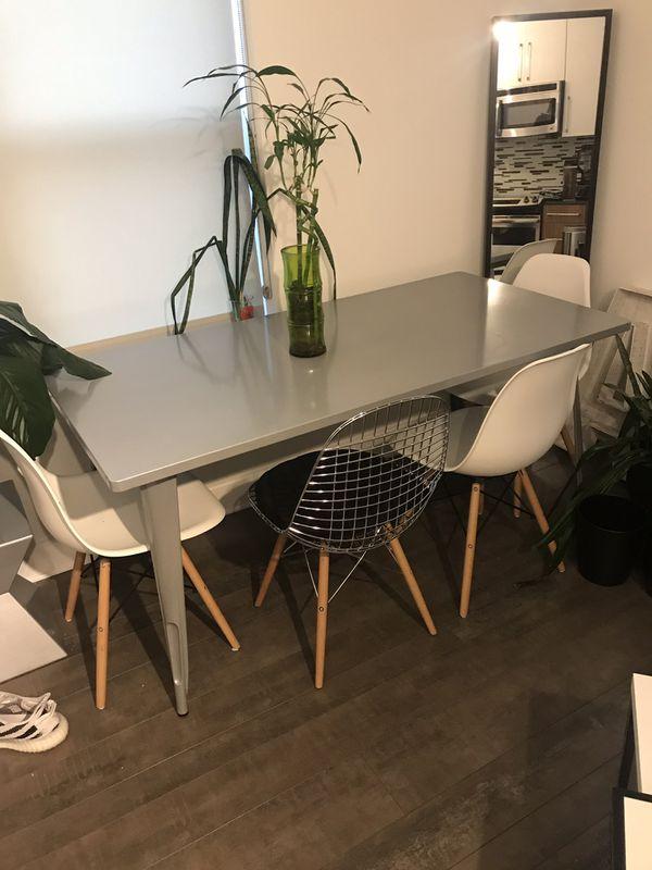 Modern Metal Table