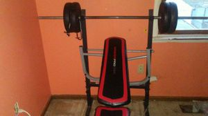Workout bench for Sale in Manassas, VA
