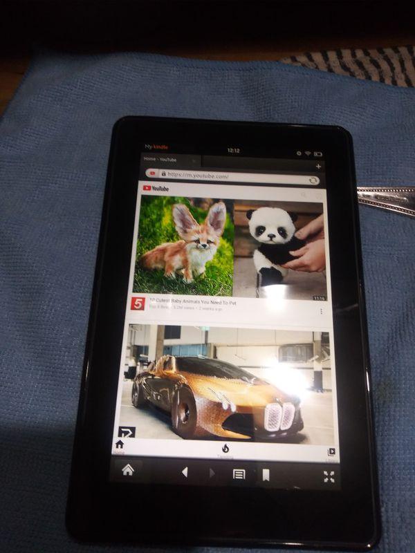 Amazon kindle fire wifi 8GB black 7