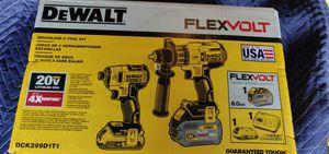 DeWalt Flexvolt Hammer Drill & Impact Kit for Sale in Washington, DC