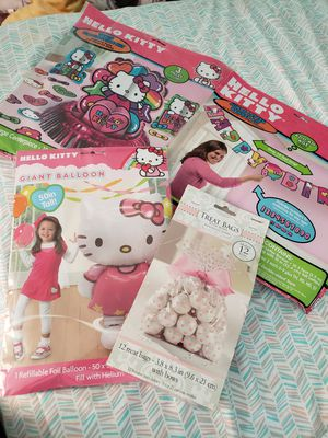 Hello Kitty Party Decorations for Sale in NEW CARROLLTN, MD