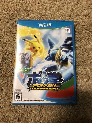 Pokken Tournament - Wii U for Sale in Tulsa, OK
