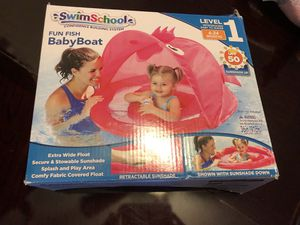 Swim School Baby Boat Float Level 1 for Sale in Apex, NC