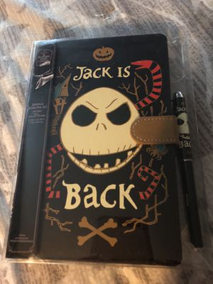 Nightmare Before Christmas 128 page Journal w/Pen for Sale in San Jose, CA