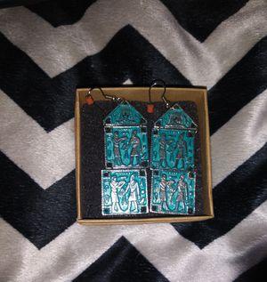 Turquoise Egyptian earrings for Sale in Phoenix, AZ