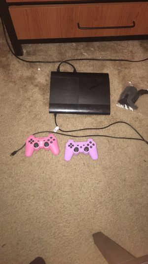 PS3 console with 1 remote and games for Sale in Murfreesboro, TN
