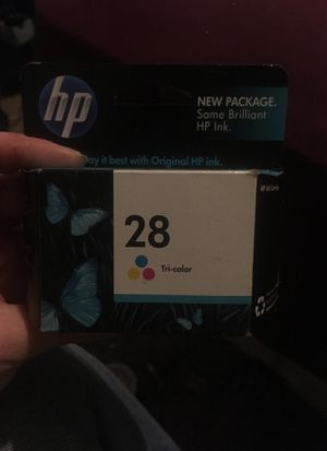 HP 28 tri color ink cartridge for office jet desk jet , printer, scanner, coppier for Sale in Painton, MO