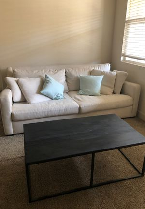 Crate and Barrel Verano Sofa Couch for Sale in Fresno, CA