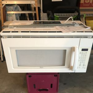 Whirlpool Over the Range Microwave Oven for Sale in Summerfield, FL