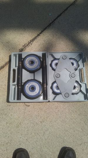 Arm curling weight set for Sale in Garden City, MI