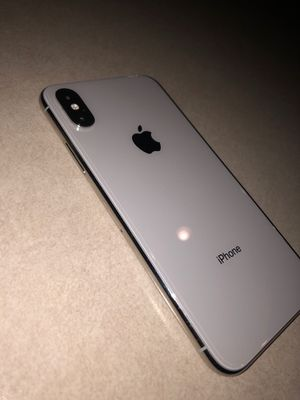 Apple iPhone X 64gb Silver AT&T for Sale in Stockton, CA