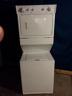 Rock Solid Kenmore Stackable Washer Dryer Unit for Sale in Westminster, CO