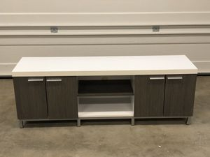 TV Stand with Shelves for Sale in Los Angeles, CA
