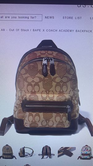 New bape coach collab girls backpack for Sale in San Diego, CA