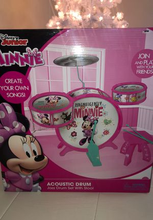 Minnie drum set for Sale in Glenview, IL