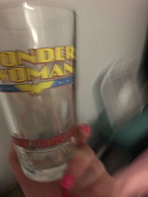 Wonder Woman collectible drink glass for Sale in Phoenix, AZ