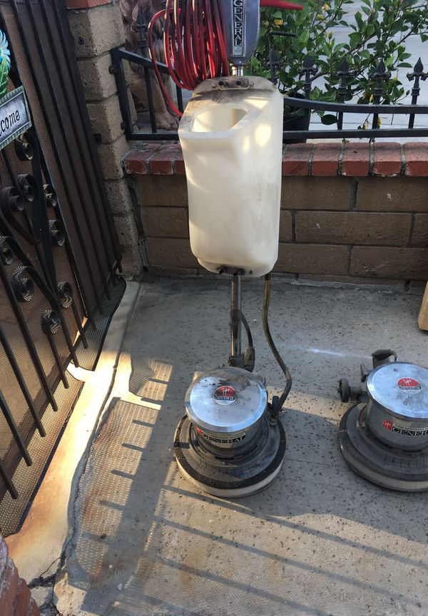 General carpet and floor scrubber for sale with extra head motor closed my business 800 obo