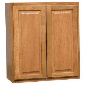 Hampton Assembled 27x30x12 in. Wall Kitchen Cabinet in Medium Oak by Hampton Bay NEW for Sale in Fort Lauderdale, FL
