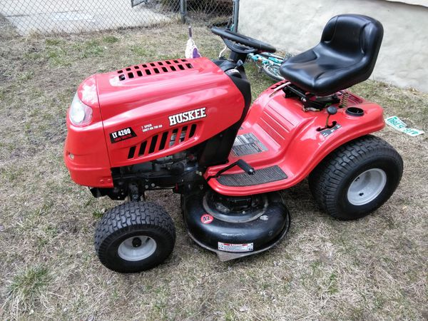2013 Huskee Lt4200 Ride On Lawn Mower For Sale In Lowell