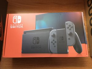 Nintendo Switch with Gray Joy-Con for Sale in Silver Spring, MD