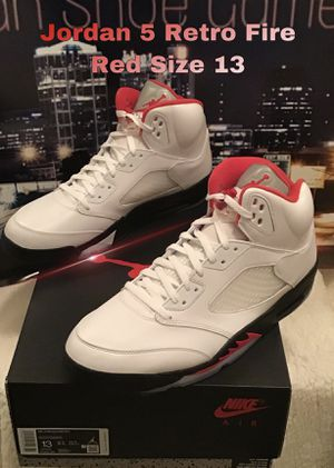 Jordan 5 Retro Fire Red Size 13 for Sale in Nashville, TN