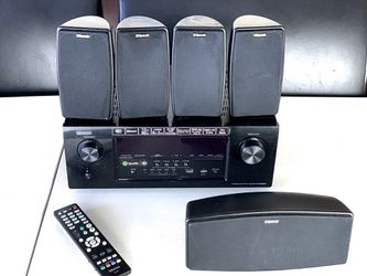 Denon receiver with 5 klipsch speakers for Sale in South San Francisco,  CA