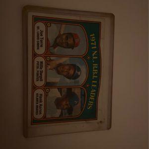1971 N.L R.B.I. Leaders Card for Sale in Santa Clarita, CA