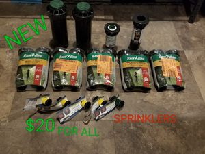 brand new lot of sprinklers only $20 for everything for Sale in Littlerock, CA