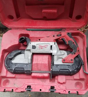 Milwaukee 6232-21 Deep Cut Band Saw W/case for Sale in Dallas, TX